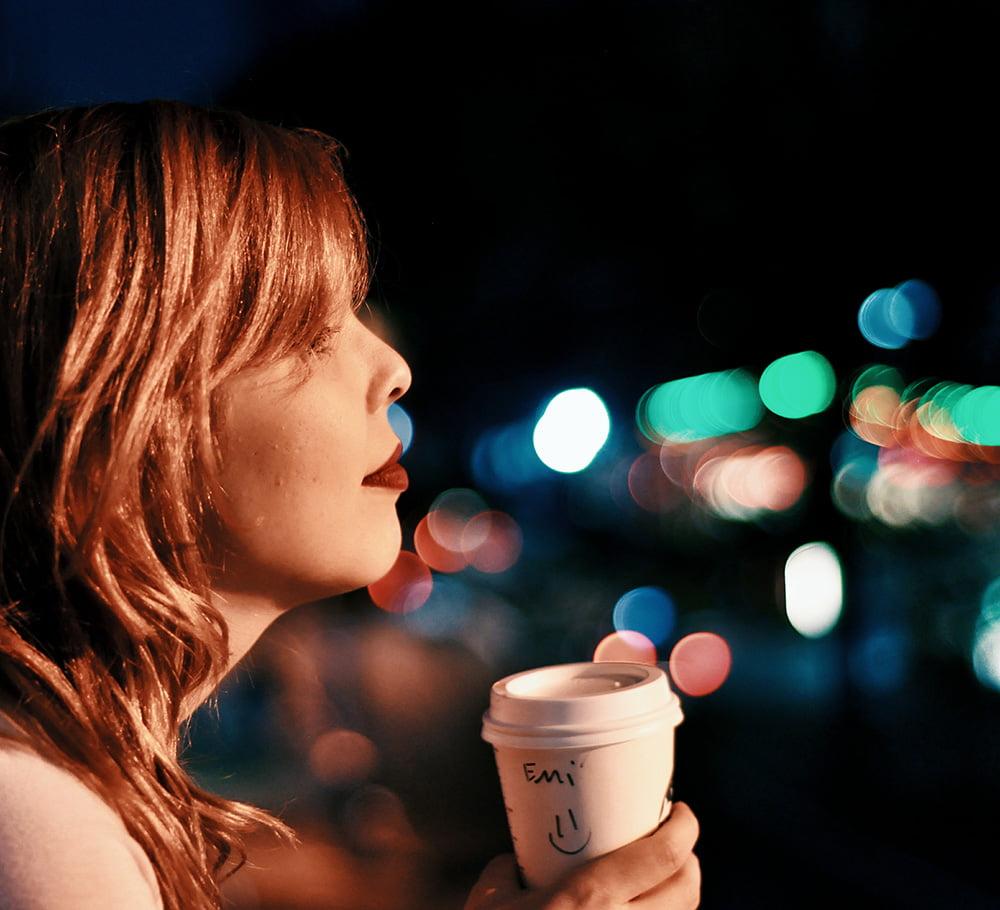 Starbucks e bokeh